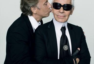 Karl Lagerfeld & Fabrice Luchini